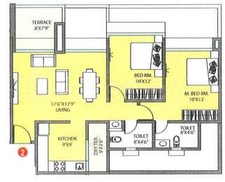Pharande Spaces Builders Pharande Woodsville Floor Plan - Pharande ...