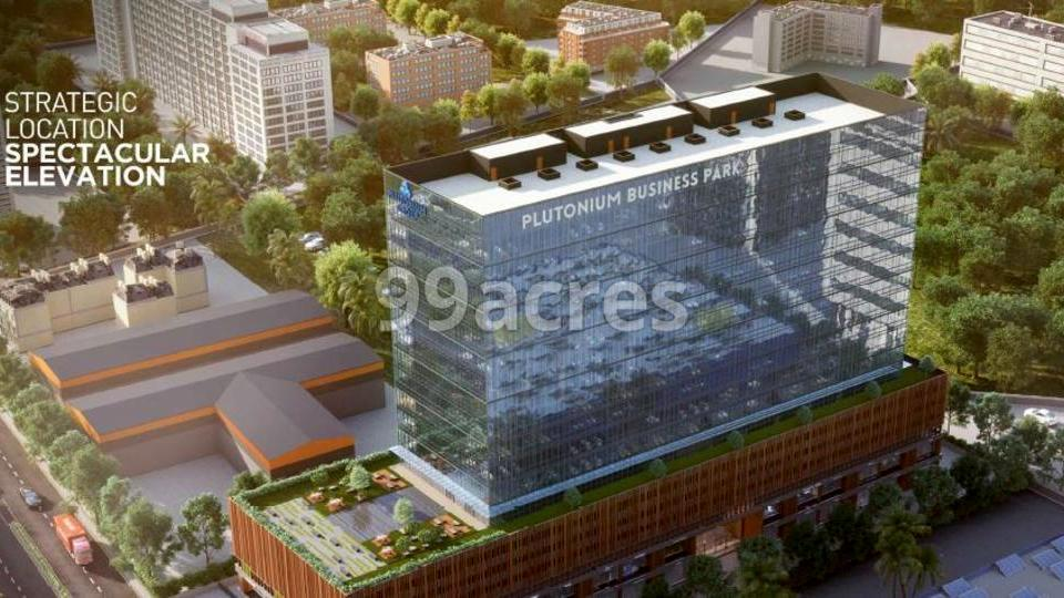 Plutonium Business Park Aerial View