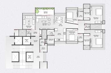 4 BHK Apartment in Popular Domain