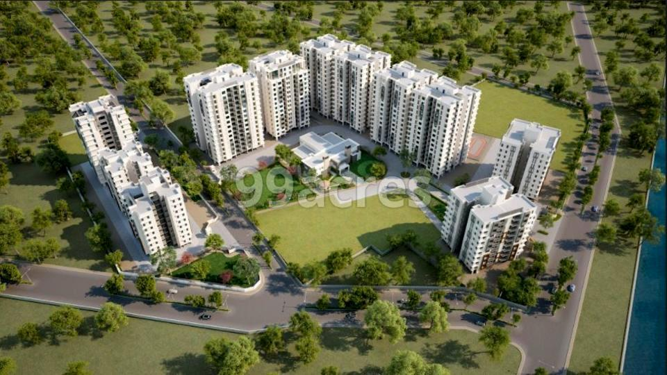 Pratham Bluets Aerial View