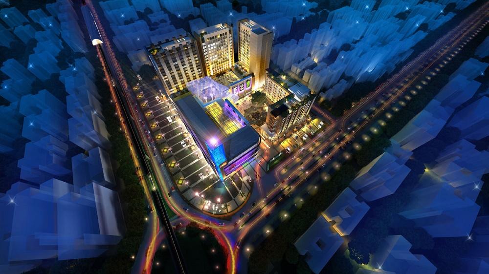 Pratham Vegas Mall Aerial View