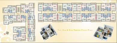 1 BHK Apartment in Prayag Complex