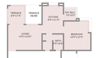 1 BHK Apartment in Prestige Heights