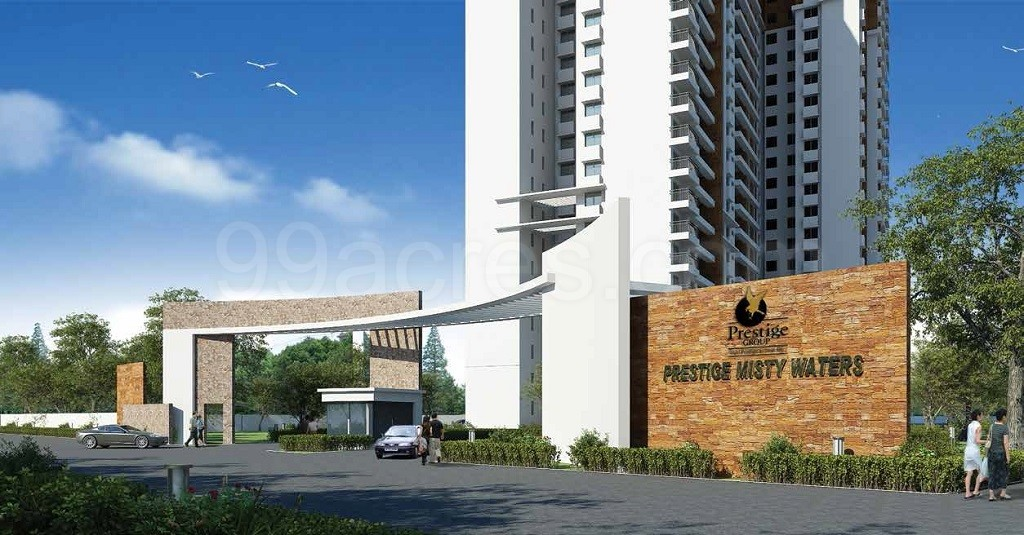 Prestige Misty Waters in Hebbal, Bangalore North