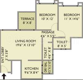 2 BHK Apartment in Park Xpress
