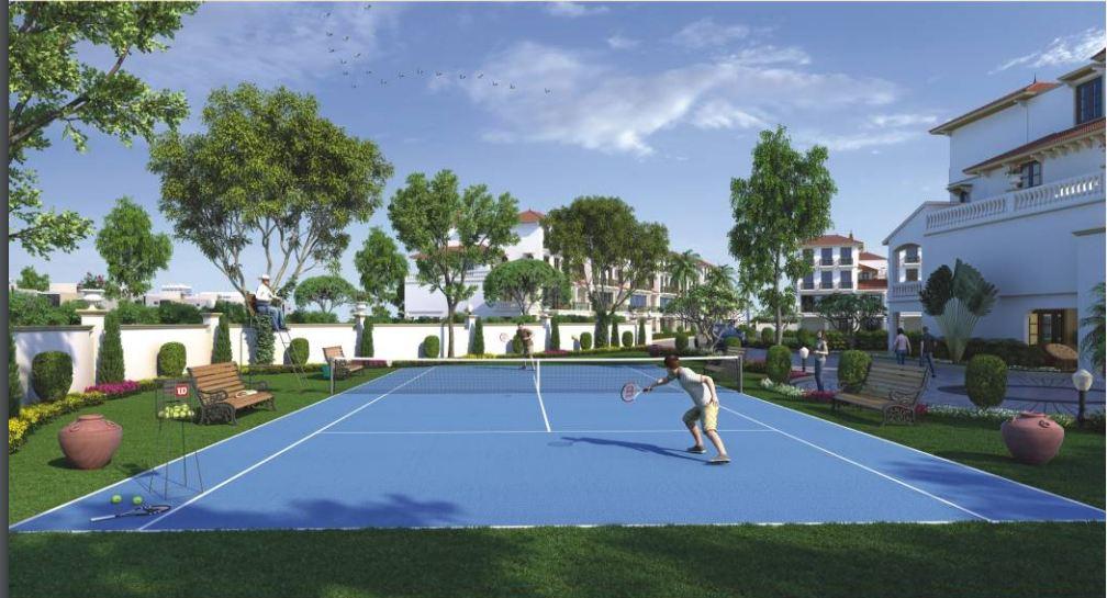 Priyadarshini The Athenaeum Tennis court