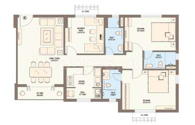 3 BHK Apartment in