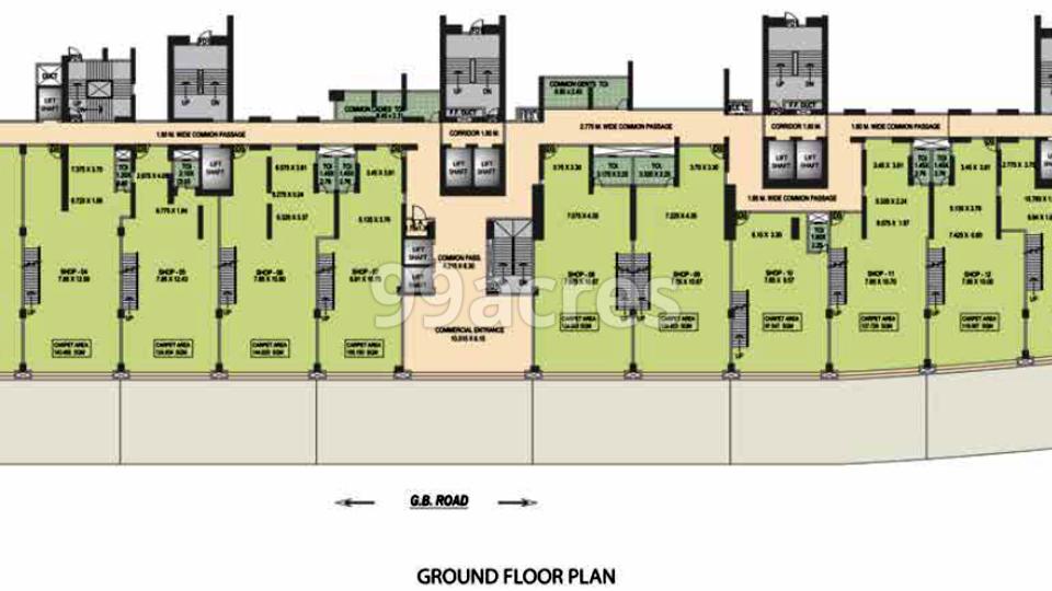 Puraniks Rumah Bali Typical Plan