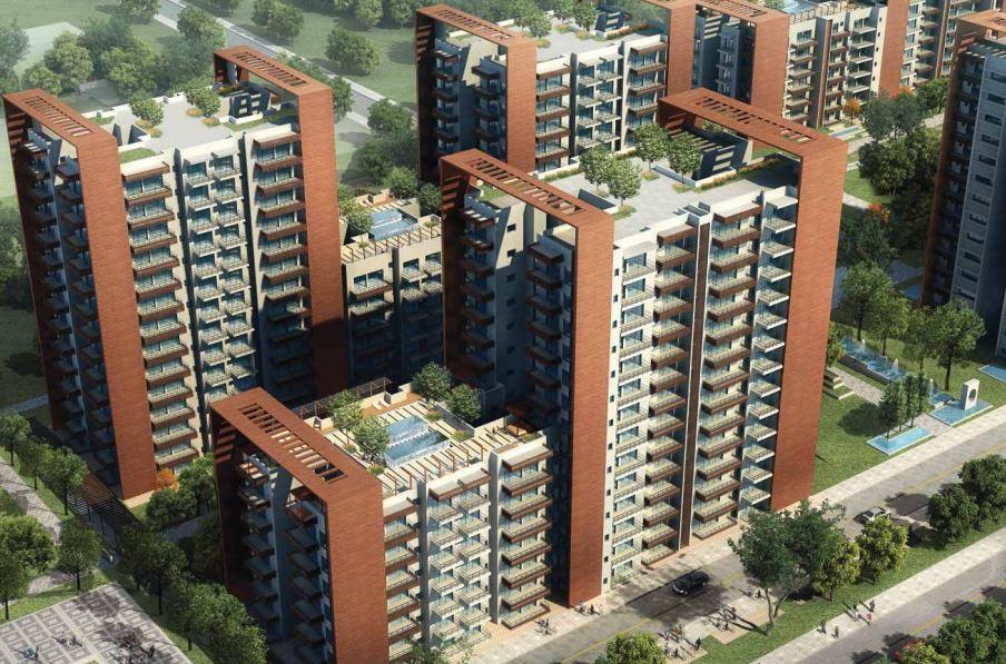 Puri Aanand Vilas Aerial View