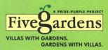 LOGO - Pride Purple Five Gardens