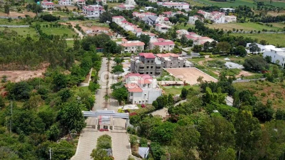 Mantri Hills Aerial View