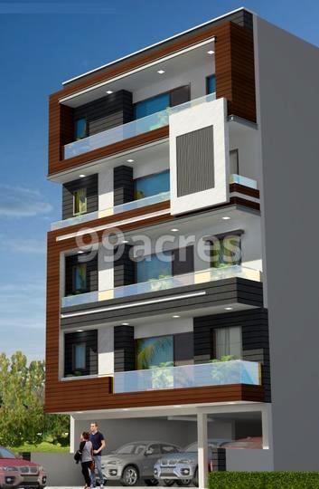 Radhe Floors Elevation