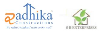 Radhika Constructions and SR Enterprises