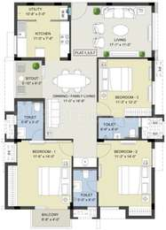 3 BHK Apartment in Radiance Rajshri