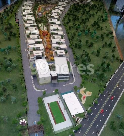 Raffles Park Aerial View