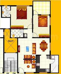 2 BHK Apartment in Raghukul Silver Heights