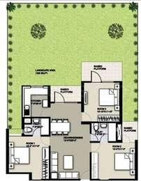 3 BHK Apartment in Raheja Sampada