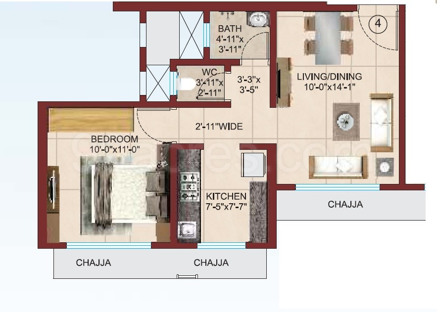 Raj Realty Group and Arkade Group Raj Rudraksha Floor Plan