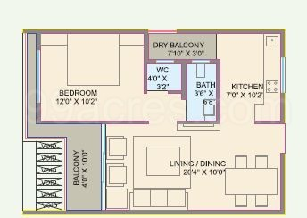 1 BHK Apartment in Rajat Prime