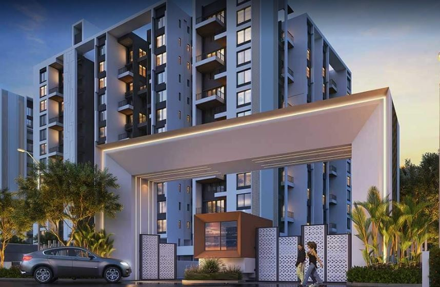Rama Metro Life Maxima Residences Entrance