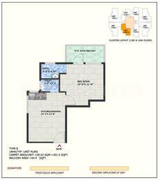 1 BHK Apartment in ROF Aalayas