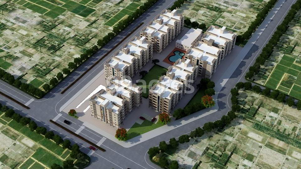 Ramky Green View Apartments in Srisailam Highway, Hyderabad