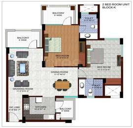 2 BHK Apartment in Ramprastha The Edge Towers