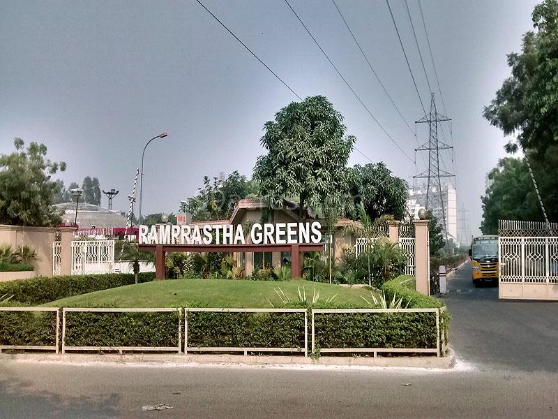 Ramprastha Greens Entrance
