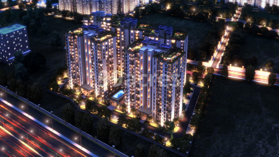 Ramprastha Greens The Platinum Aerial View