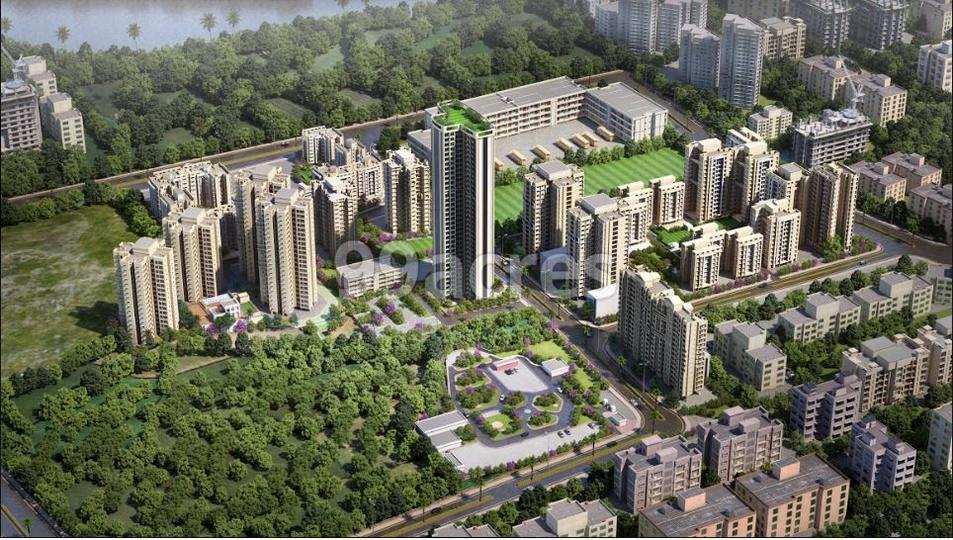 Raunak Unnathi Woods Phase 7 Aerial View
