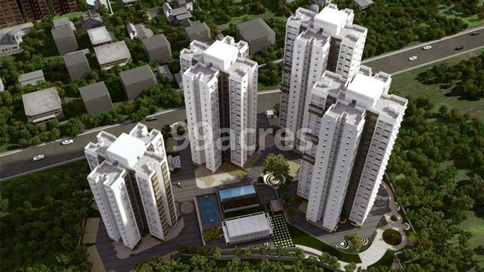 Raunak Unnathi Woods Phase 3 Aerial View