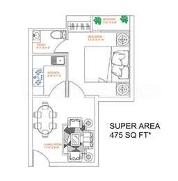1 BHK Apartment in Revanta Smart Residency
