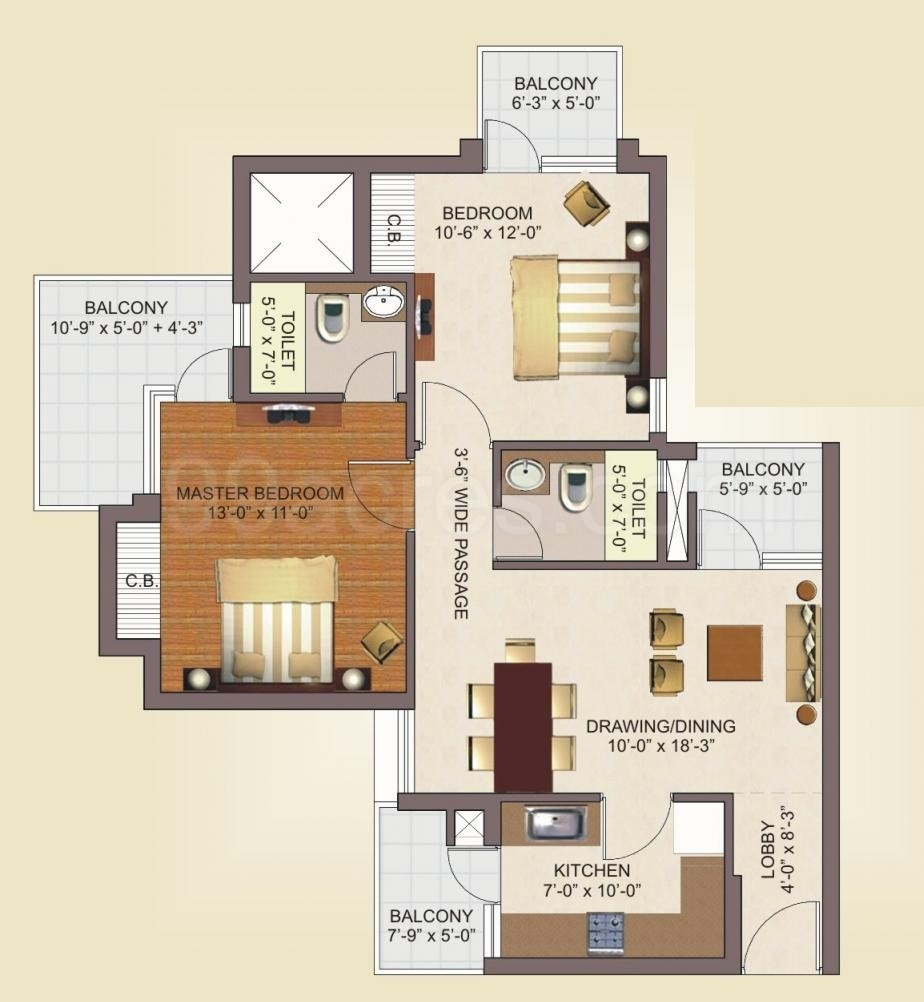 Luxury Townhouse Floor Plans The Villages Cottage Home