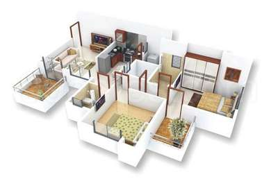 2 BHK Apartment in Right Choice Anisha Enclave