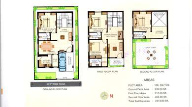 4 BHK Villa in RK Lorven Homes