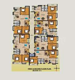 2 BHK Apartment in RKN Diksha Flats