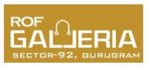 Rof Galleria 92 Gurgaon