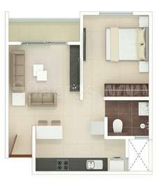 1 BHK Apartment in Rohan Upavan