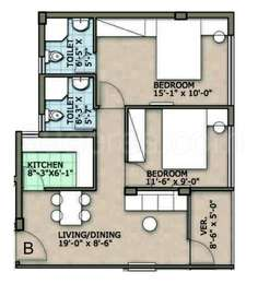 2 BHK Apartment in Rohra Address