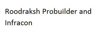 Roodraksh Probuilder and Infracon