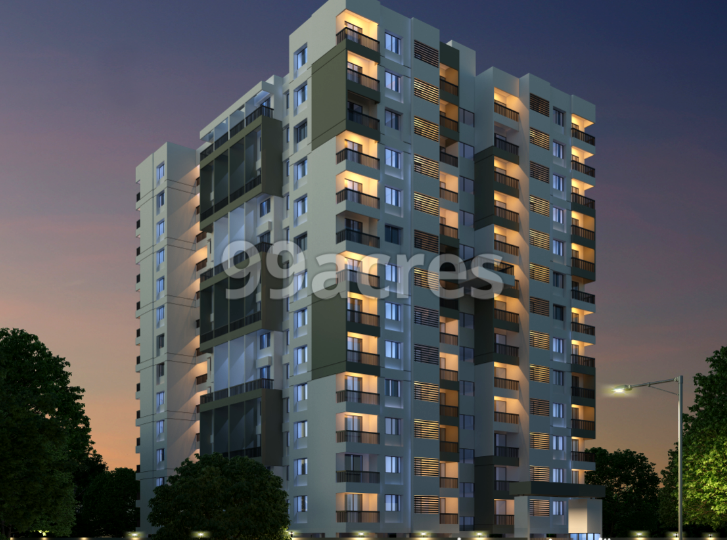 Roongta Meridian Apartment Elevation