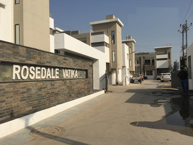 Rosedale Vatika Entrance