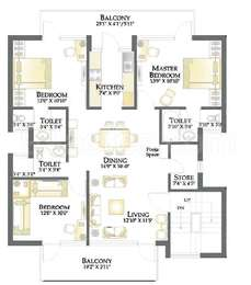 3 BHK Independent Floor in RPS Palms