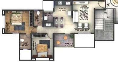 2 BHK Apartment in Runwal Snehanjali