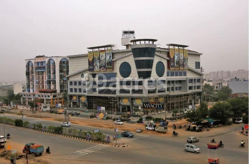 Vivacity Mall Elevation