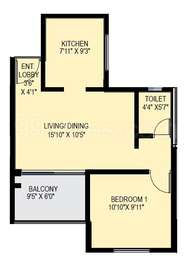 1 BHK Apartment in Accord