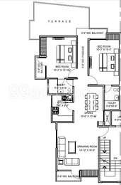 2 BHK Independent Floor in Sai Dham Dwarika Enclave
