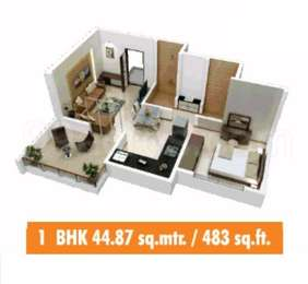 1 BHK Apartment in Sai Nandanvan Colina