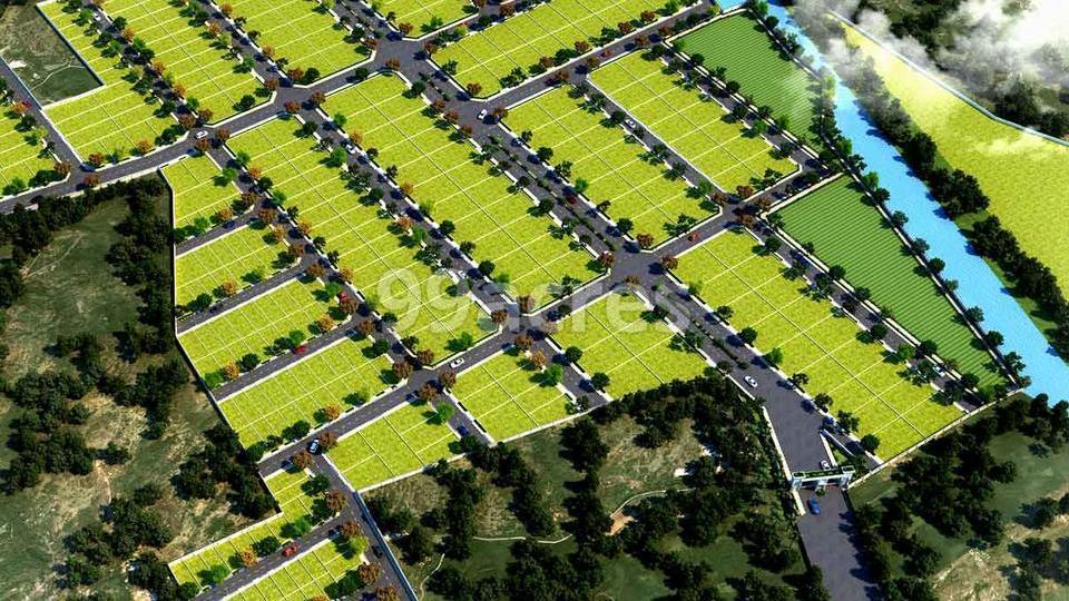 Sameera Prime Gardens Aerial View