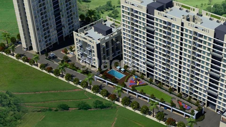 Samraat Gokuldham Aerial View